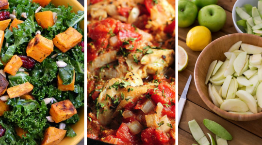 3 Simple + Healthy Recipes for Sukkot